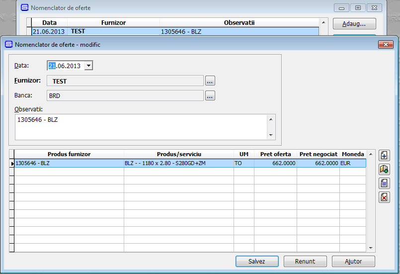 Imaginea nr. 1 – Oferta de pret - Synchron ERP